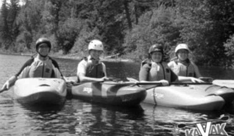 Excursion en Kayak sur la rivière Shipshaw