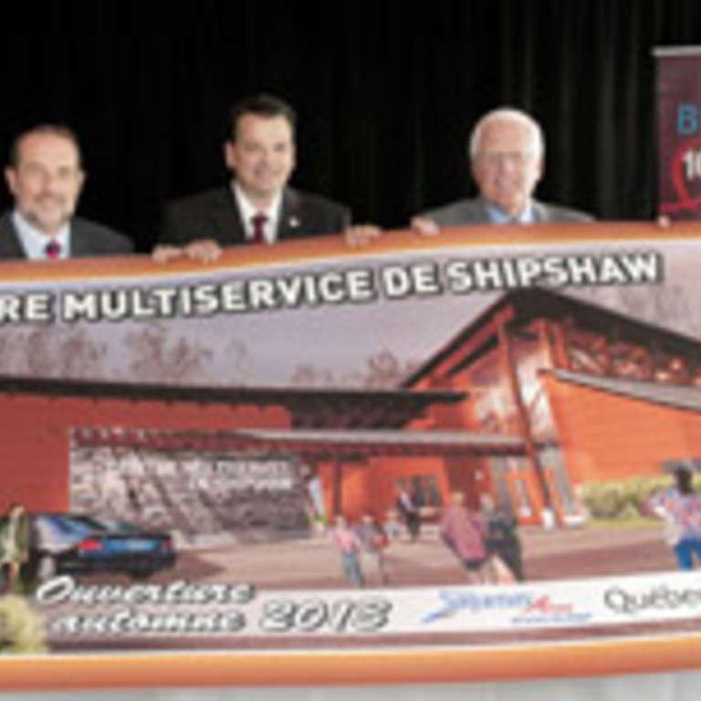 Nouveau centre multiservice à Shipshaw