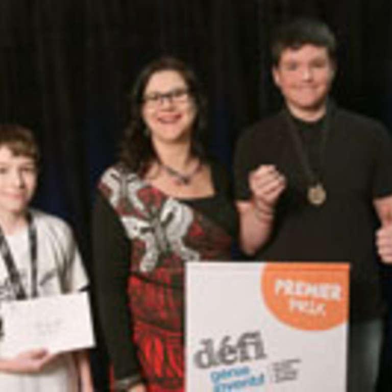 Défi génie inventif : 2 jeunes Shipshois gagnent la médaille d'or