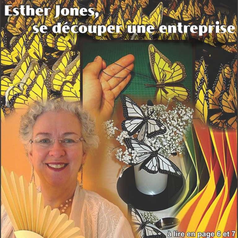 Esther Jones, se découper une entreprise