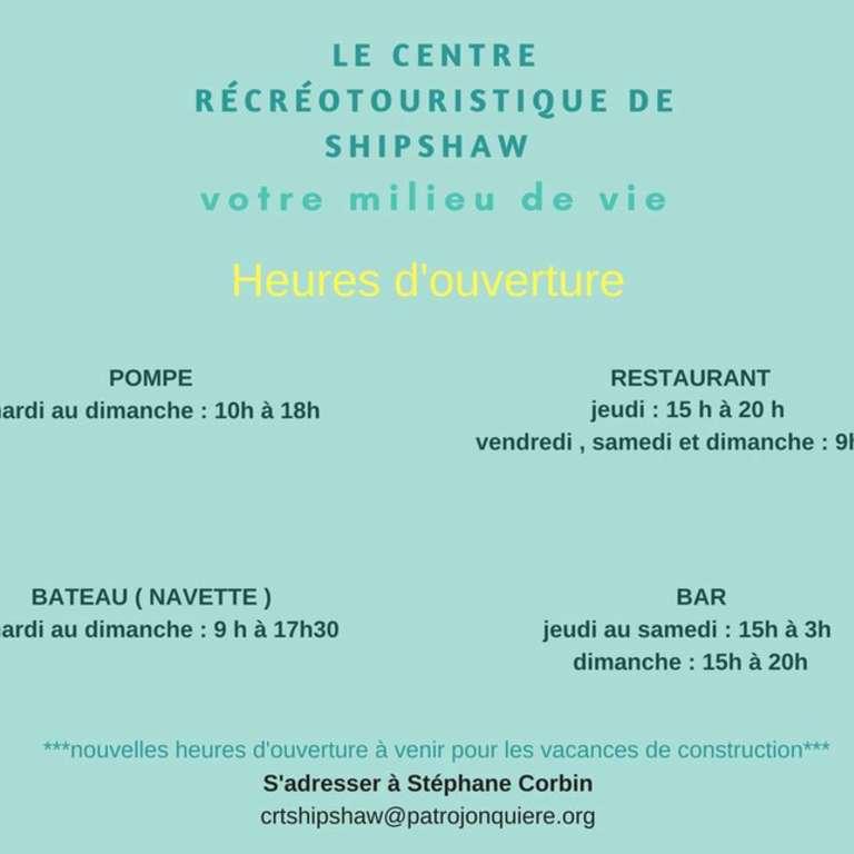 Centre récréotouristique de Shipshaw