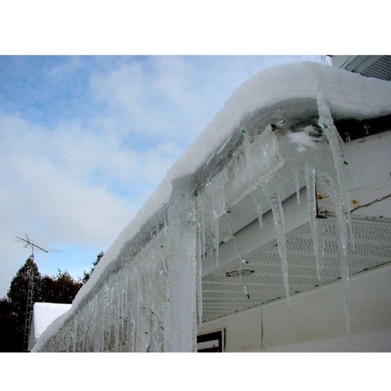 La saison des digues de glace est de retour