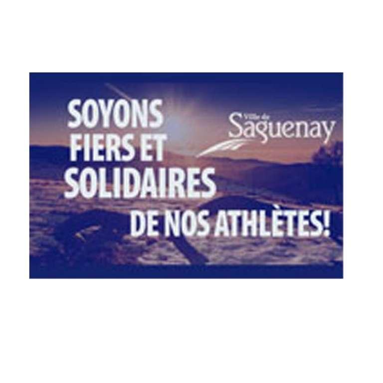 Soyons fiers et solidaires de nos athlètes!